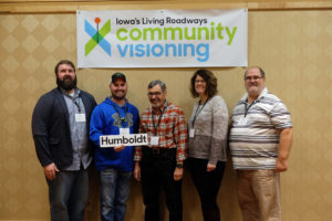 Humboldt Community Visioning Steering Committee members at Ames Kick-off Event